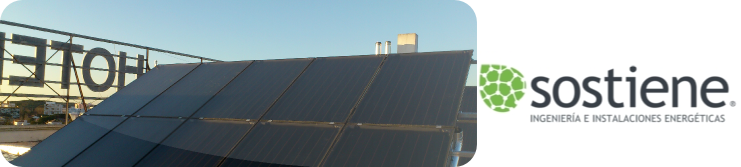 Monitorización y automatización de instalación ACS solar térmica para un hotel
